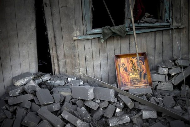 Троица Война в Донбассе
