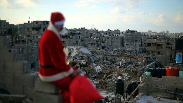 Санта в секторе Газа