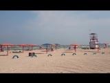 Кемпинг на Азовском море (пляж Оазис под Ачуево)