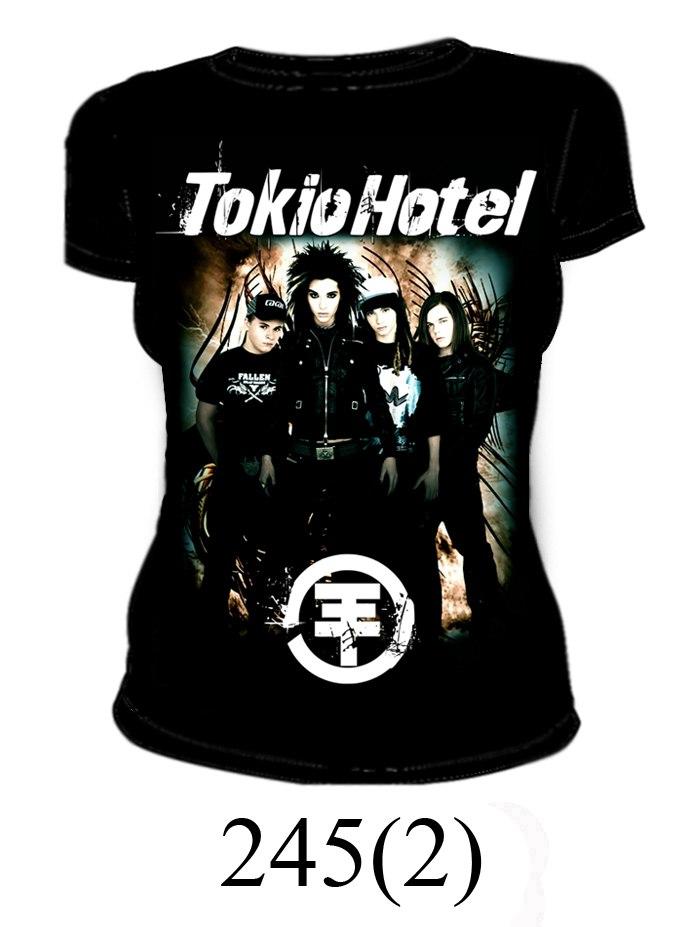Футболка Tokio Hotel женская