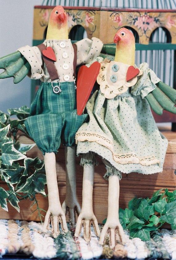 текстильные грунтованные игрушки