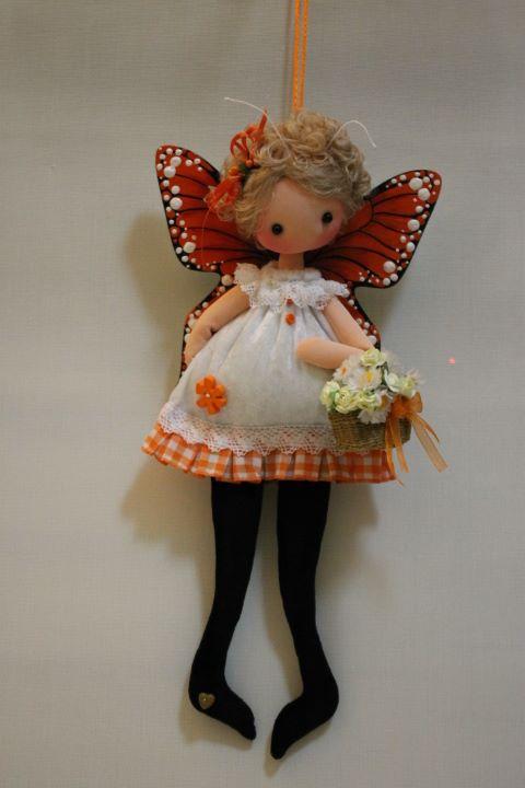 кукла бабочка