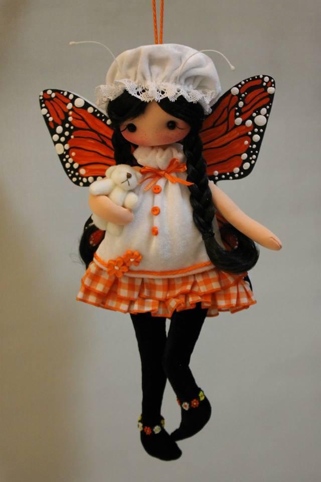 милые куклы ручной работы