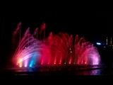цветной фонтан в ашдоде