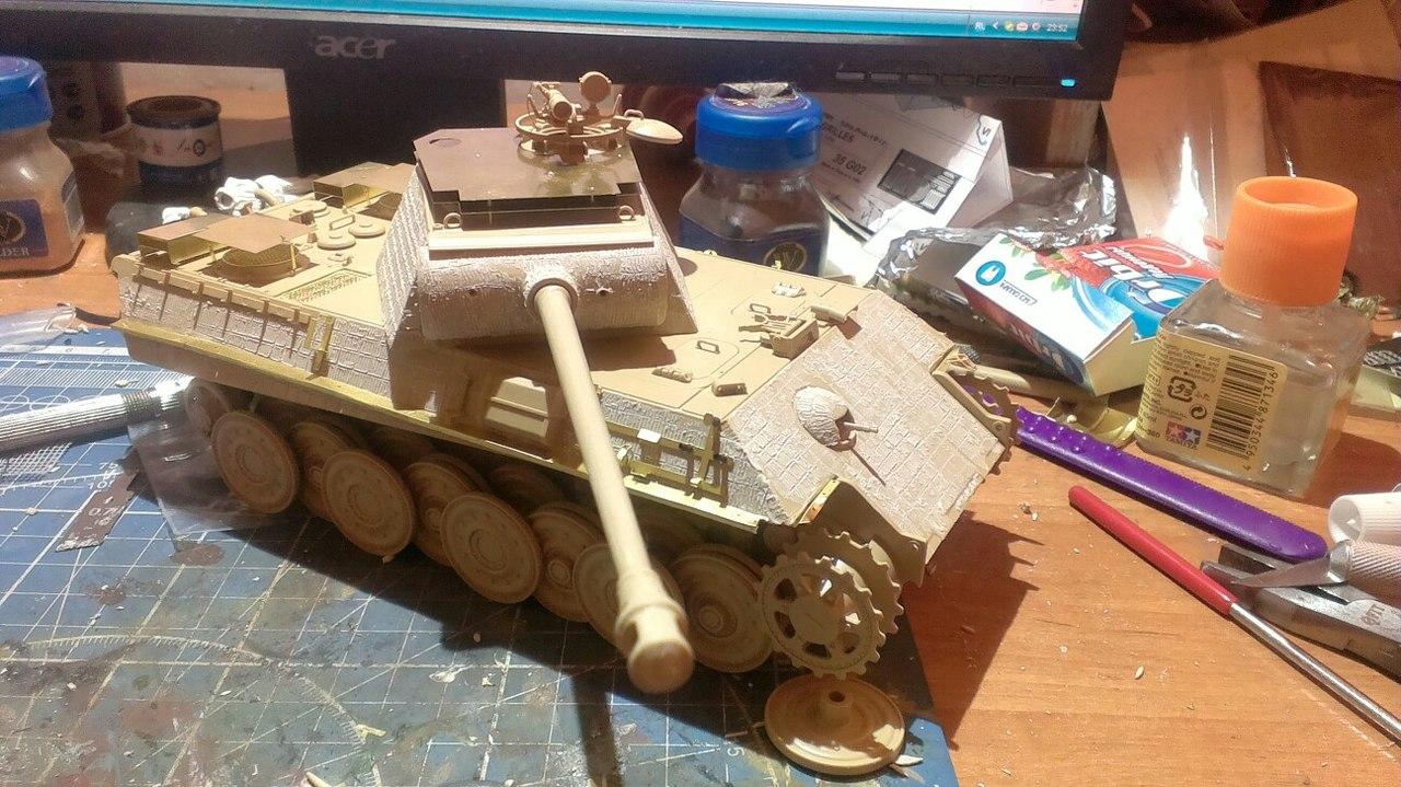 Panther G с инфракрасным прибором.  FMo1wL_uCtk