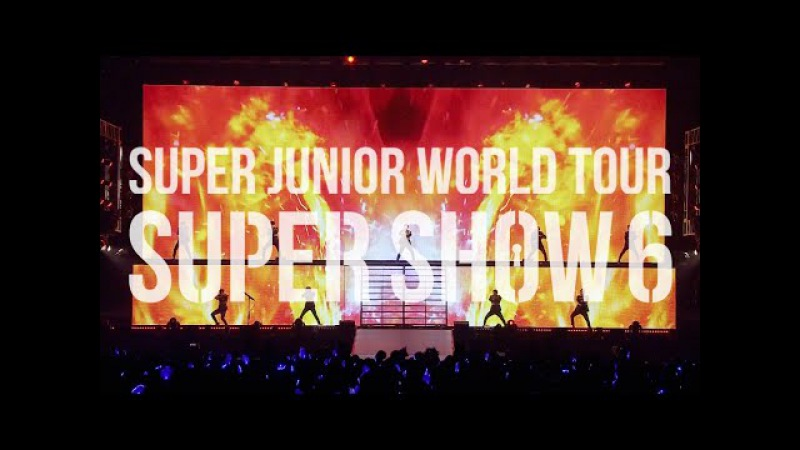 SUPER JUNIOR / 「SUPER JUNIOR WORLD TOUR SUPER SHOW6 in JAPAN」」LIVE DVD Blu-ray Teaser①