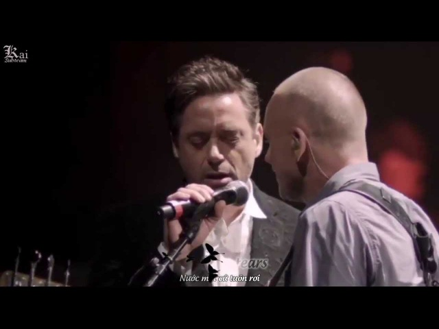 Sting Robert Downey Jr - Driven To Tears [Live]