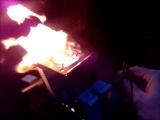 Самодельный генератор на дровах. Тестирование