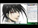 Black Butler Sebastian. Manga Drawing / Темный Дворецкий Себастьян