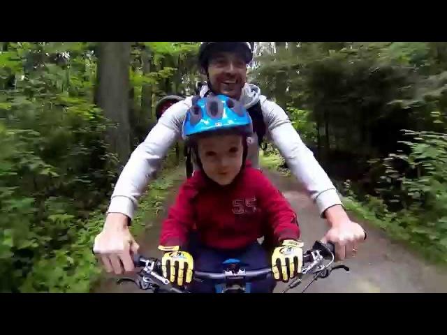 Father and Son - Mountain Bike Fun.