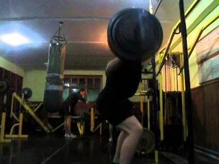Атлет ТБ 04.11.2015 - присіди Олексія Штацького 127,5 кг