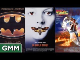 10 Best Movie Posters of All Time | 10 лучших плакатов к фильмам всех времён