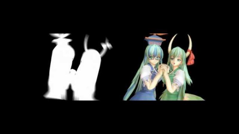 Bad Apple!! (Shadow-Art vs. 3D Models) Side-By-Side Comparison