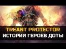 История Dota 2 Treant Protector Трент
