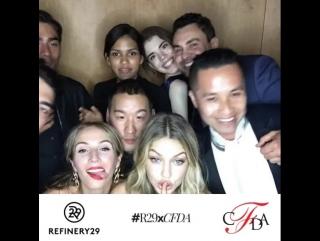 Джиджи на CFDA Fashion Awards в Нью-Йорке (1 июня 2015)