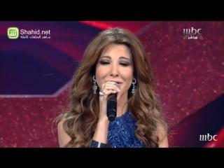 Arab Idol - نانسي عجرم في أغنية مع المشتركين