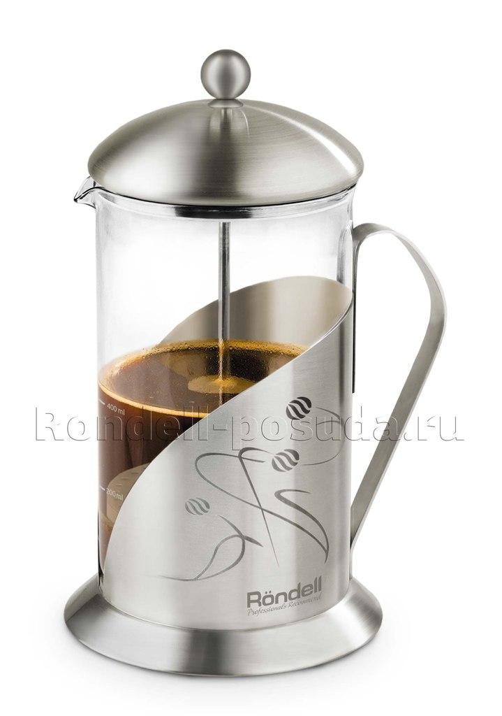 """Приз за 3-e место  - """"Френч-пресс для кофе и чая Rondell Tasse"""""""
