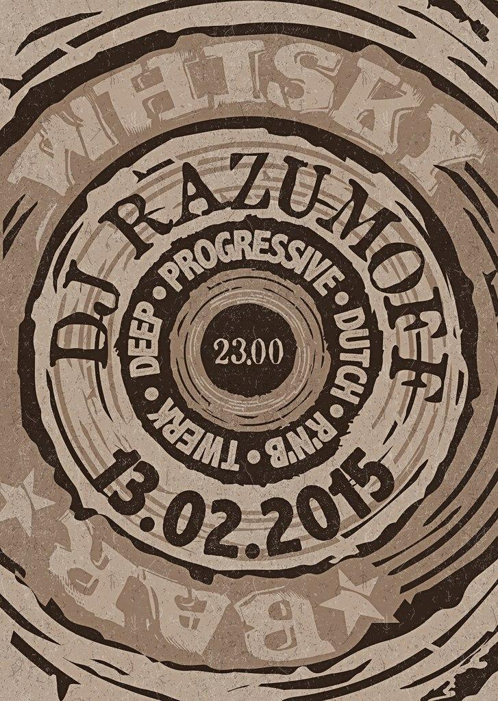 Афиша Калуга #WHISKY_BAR FRIDAY 13TH DJ RAZUMOFF