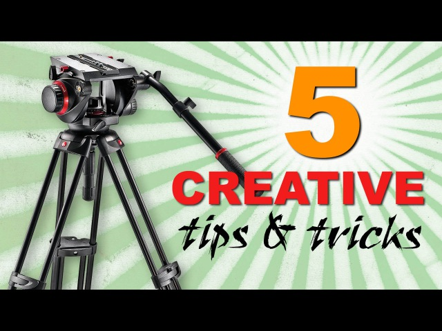 5 Creative Tripod Tricks for video | Cinecom.net