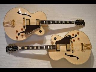 Building an Archtop Jazz Guitar 2014