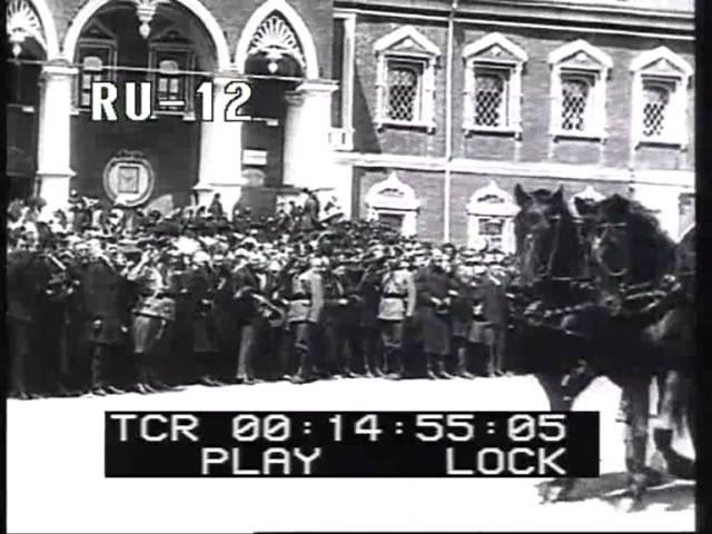 Празднование 300-летия Дома Романовых в Москве. (1913) Пате-журнал.