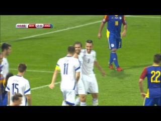 Босния и Герцеговина - Андорра 3-0 (6 сентября 2015 г, отборочный турнир Чемпионата Европы)