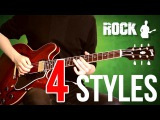 Jazz vs Blues vs Rock vs Metal - 4 STYLES IN 1 SOLO Gibson ES.