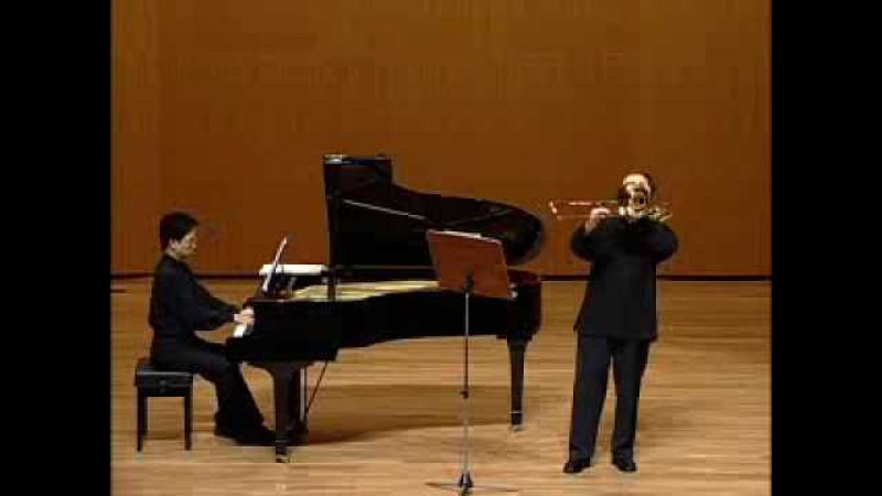 S.Rachmaninoff Vocalise op. 34 No.14 For Trombone and Piano