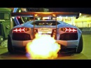 INSANE FLAMES Lamborghini Aventador LP720 4 Ft Liberty Walk Armytrix Airrex Forgiato
