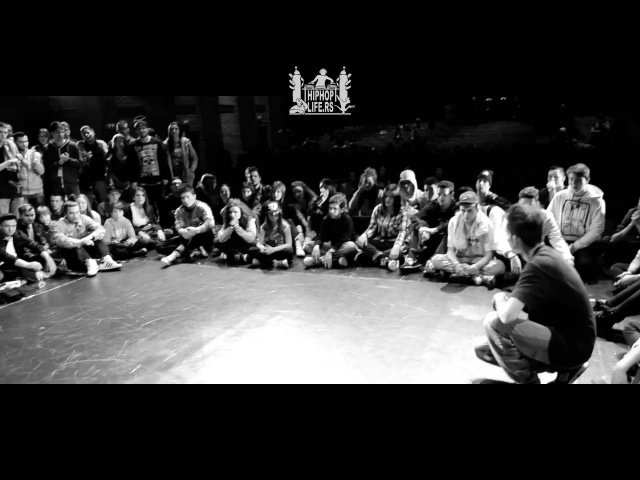 Red Bull BC One Serbia Cypher 2015 FINALS - Goofy (YBB) vs Padre (YBB)