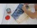 переделка джинс в модные шорты (DIY ✂ Como tingir shorts jeans   Degradé ✂ Ombré Shorts