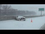 242014 Kansas City Metro Area Snow Storm B-Roll Footage.