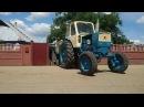 Трактор ЮМЗ-6 с прицепом