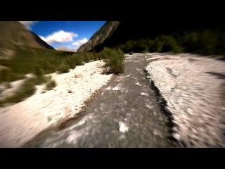 River Flight - Полет квадрокоптера над лесной рекой