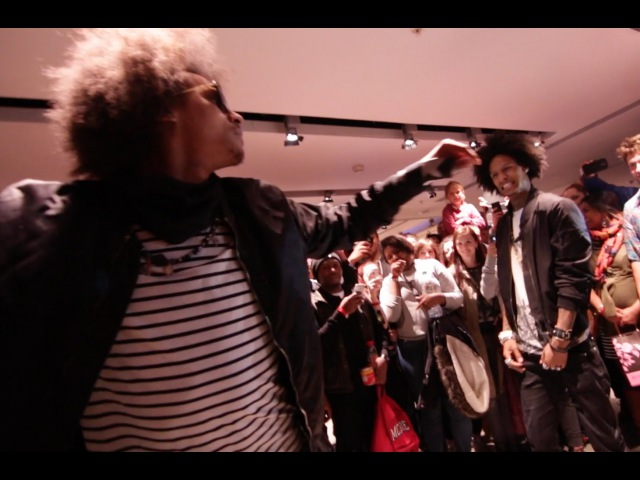 Les Twins dance battle at Breakin' Convention Sadler's Wells