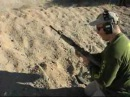 AR Dirt/Dust Test Dust Cover Open, Run Over