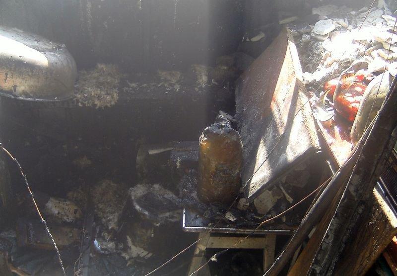 В Светловодске спасли квартиру от пожара