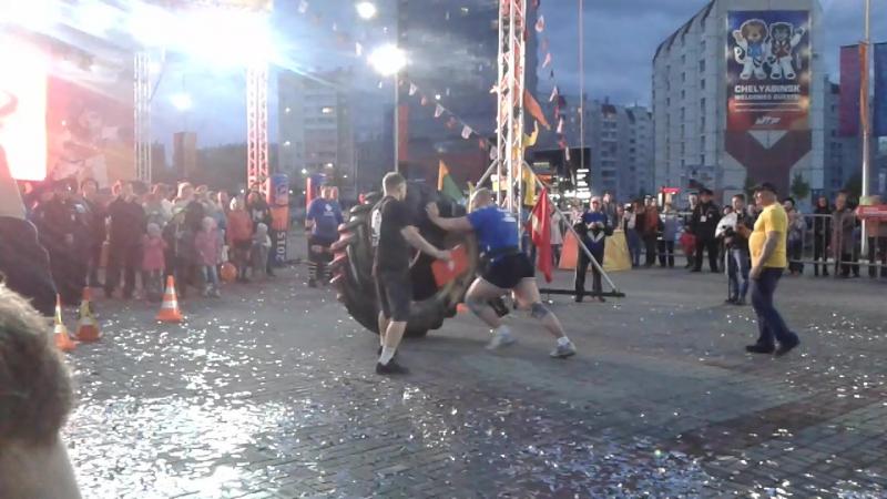 Выступление UralStrong Цигельник Иван на закрытии 2015 World Taekwondo Championships WTF