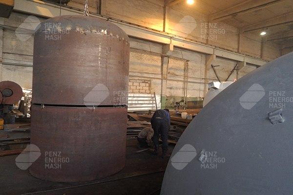 Производство воздухосборников В16-1,0-09Г2С-УХЛ1