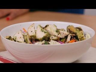 Легкий диетический цитрусовый салат с курицей. Trader Joe's Citrus Chicken Salad Hack | Lighten Up