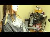 Стрижка-каскад на длинные волосы. Необычная версия
