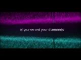Muse - Black Black Heart (David Usher cover) Lyric Video