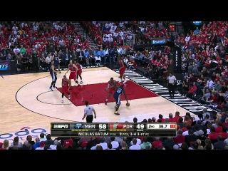 HD Memphis Grizzlies vs Portland Trail Blazers | Full Highlights | Game 3 | April 25, 2015 | NBA