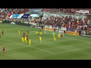 Real Salt Lake executed a superb free-kick