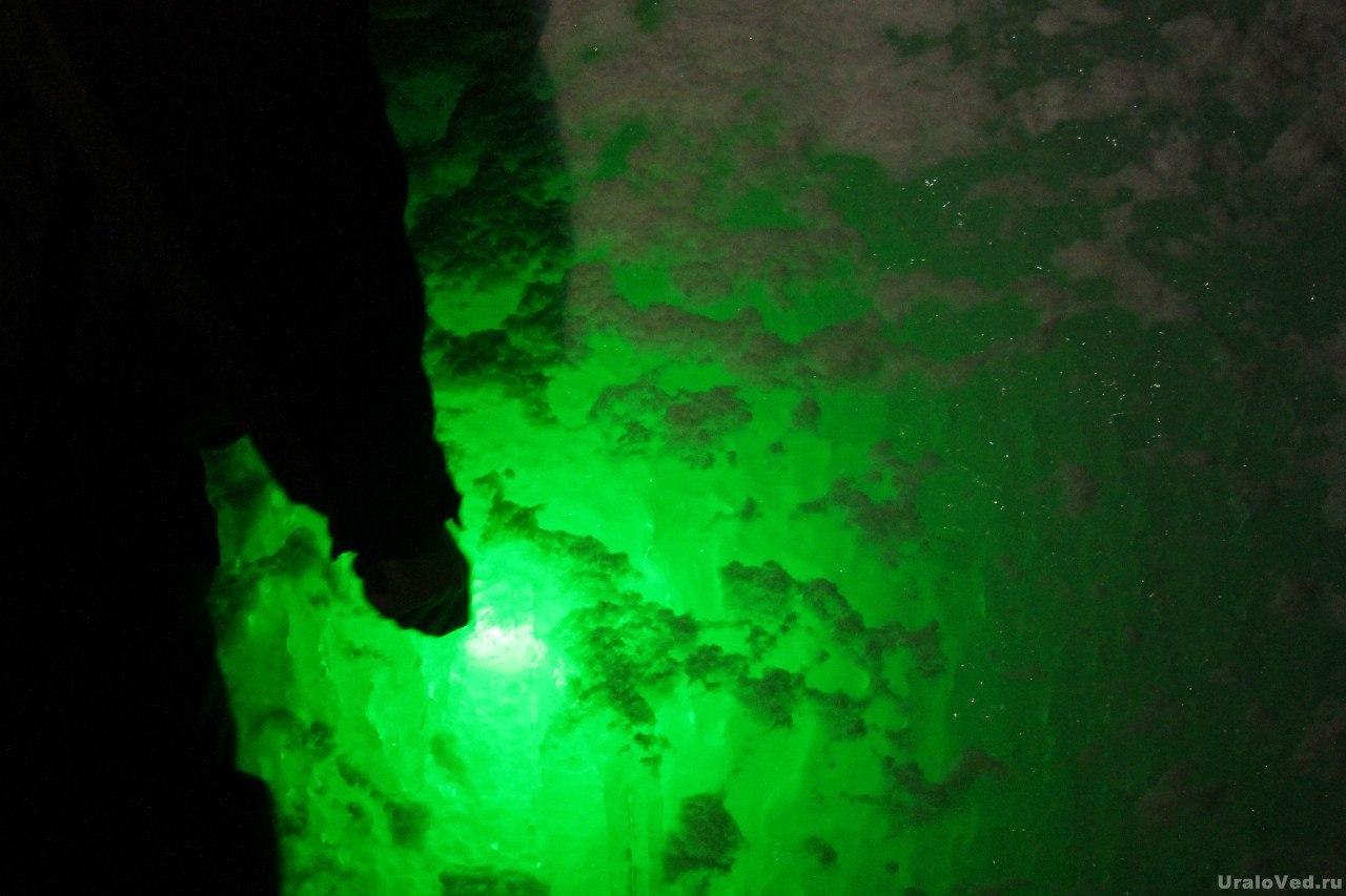Лед в Старой линзе