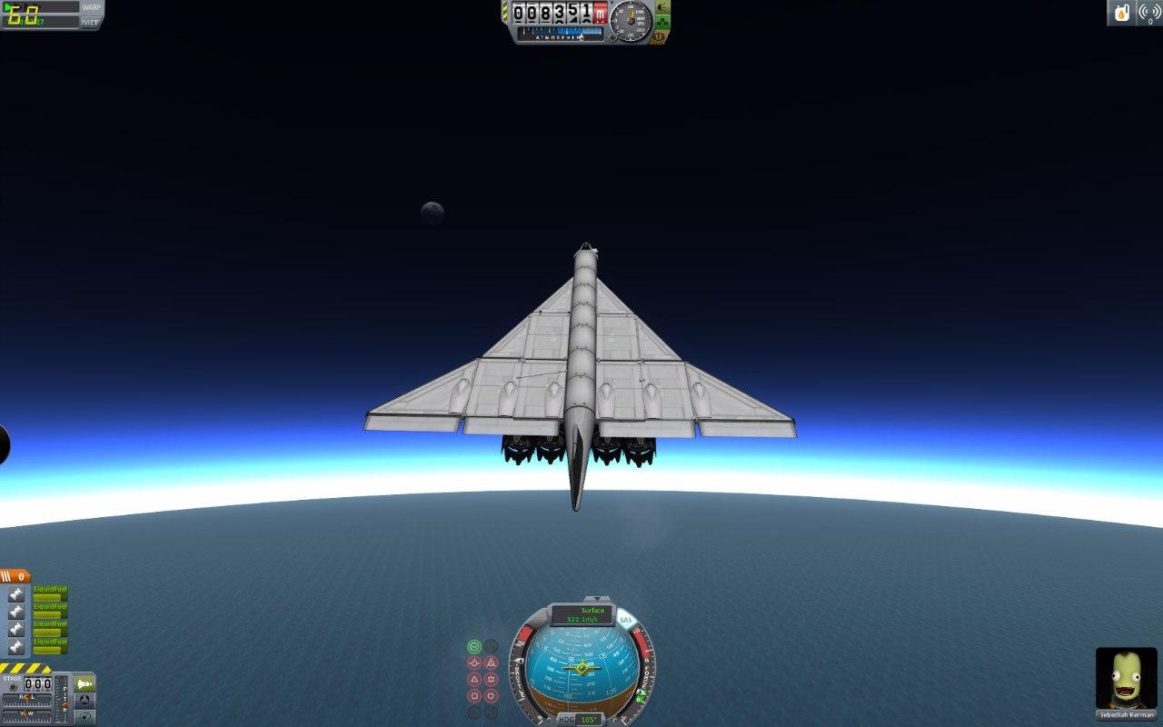 Грузовая реплика Ту-144
