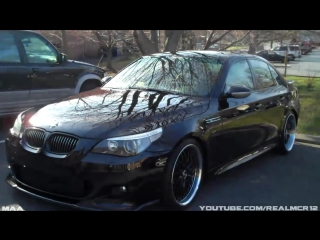 BMW 530 with Fake Hamann Parts