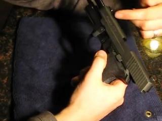Пистолет Американского Спецназа Sig Sauer P226 9mm