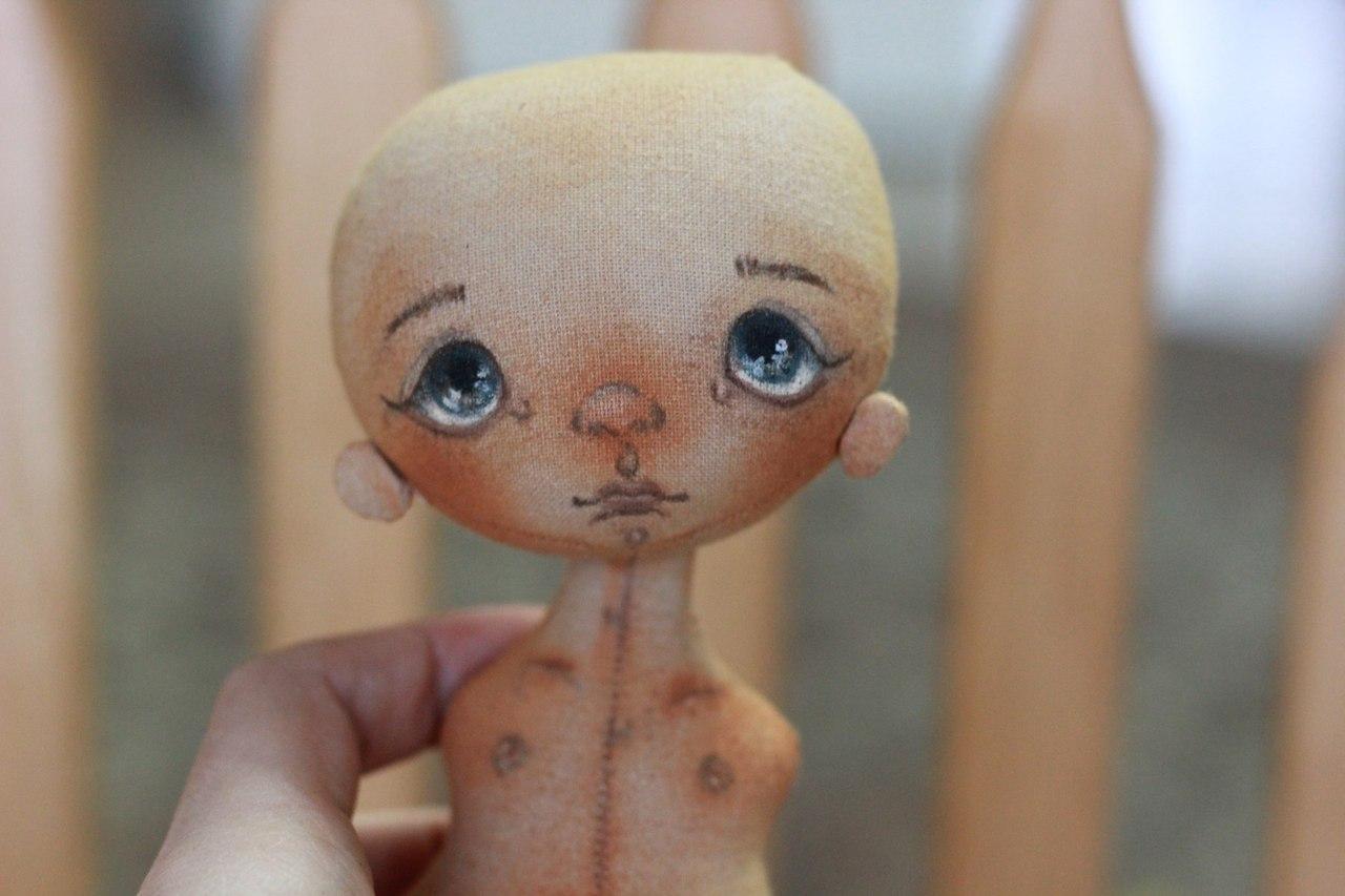 выкройка куклы бабушки из ткани