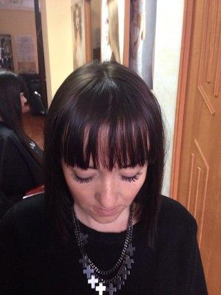 Процедура сочетается с окрашиванием, кератиновым выпрямлением и др. процедурами для волос; Салон Красоты CHOCO VITA ЖДЕТ ВАС ПОПРОБОВАТЬ НОВИНКУ : +79787 ... - v0aE9w6gEnA